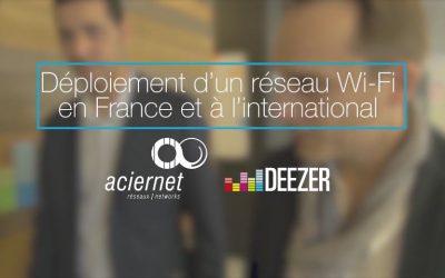 Deezer déploie son réseau wifi