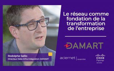 Exaprobe – Aciernet et Cisco construisent le réseau SD-WAN de Damart
