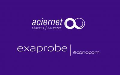Aciernet-Exaprobe devient Exaprobe