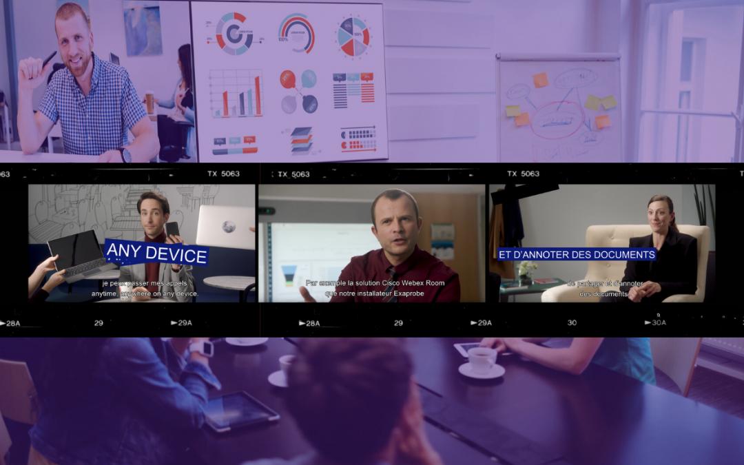 Exaprobe / Cisco : un usage, une solution pour la collaboration