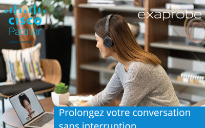 Travaillez plus intelligemment avec Webex calling et Exaprobe !